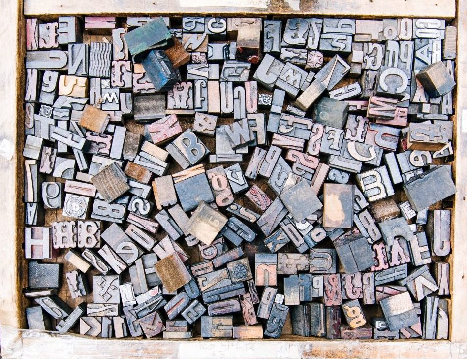 Canva - Assorted Wooden Alphabets Inside the Crate