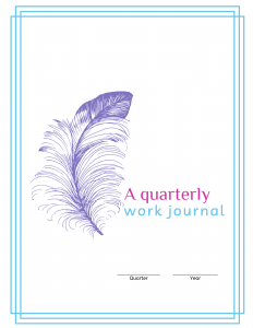 Quarterly Work Journal Front Page