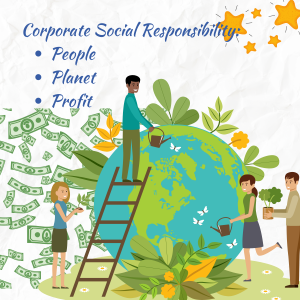 Corporate responsability: Planet People Profit