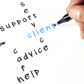 Keywords to successful client interactions